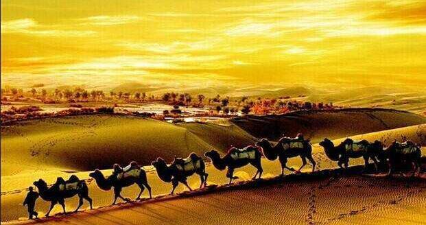 古丝绸之路是一条商贸之路.也是一条文化传播